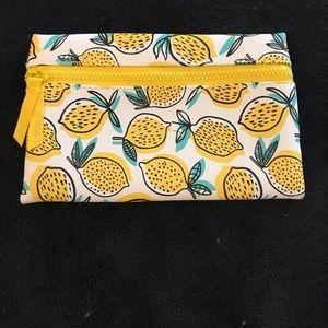 Lemon Ipsy Makeup Bag 🍋